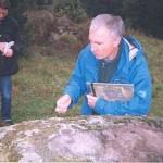 Älvkvarn kollas av arkeolog Per