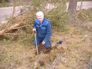 Slagggrävning Attsjö Björn